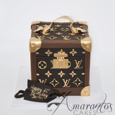 Two tier Louis Vuitton Cake - AC520