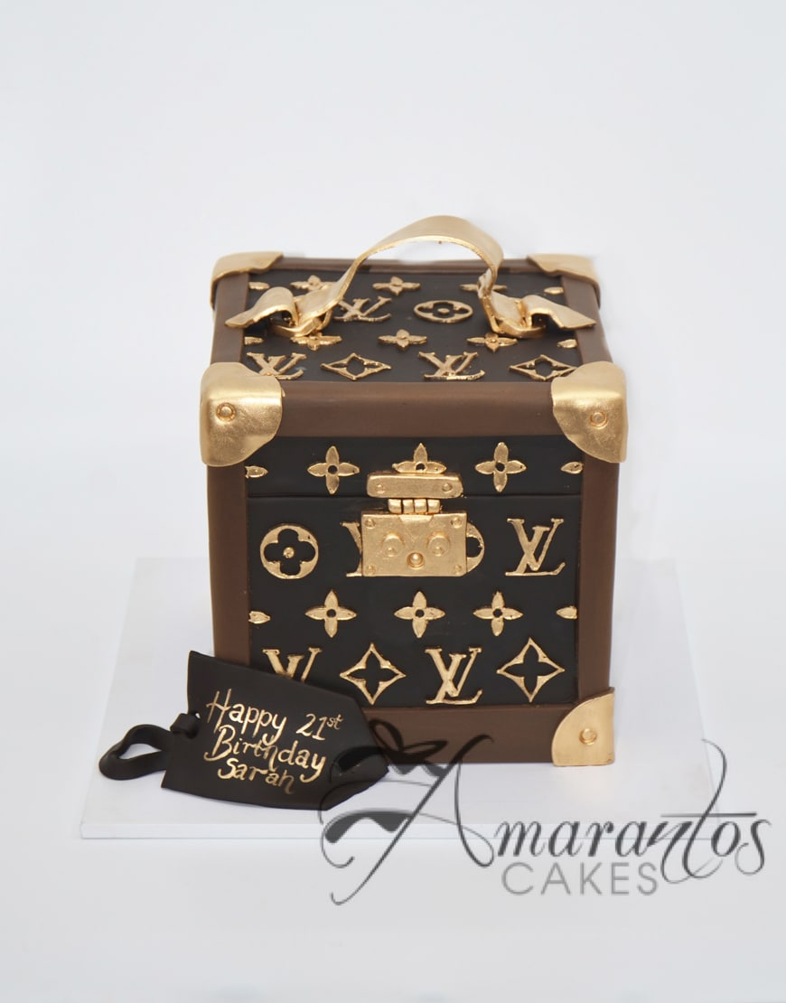 Two tier Louis Vuitton Cake - AC520