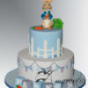 AC523 Two tier Peter Rabbit Cake