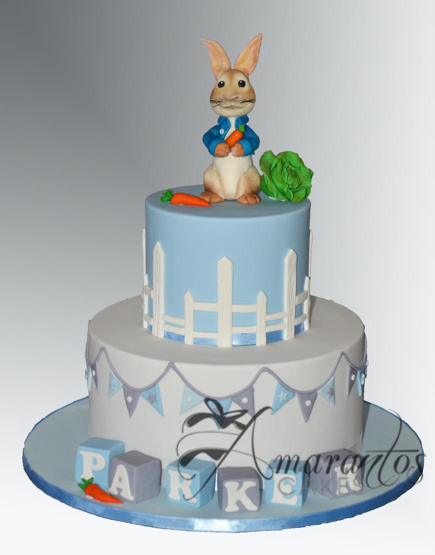 Two tier Peter Rabbit Cake - AC523