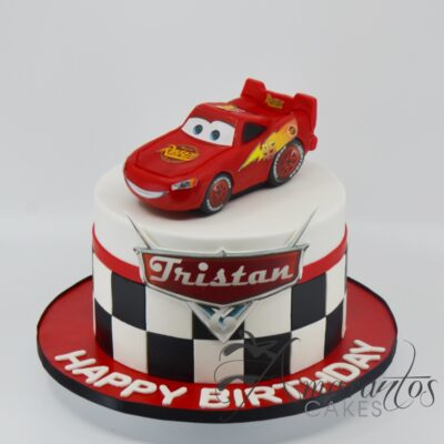 Cars the movie cake - AC534 - Amarantos Cakes