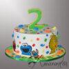 AC544 Sesame street Cake