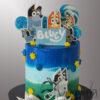 AC545 Bluey and Bingo Cake