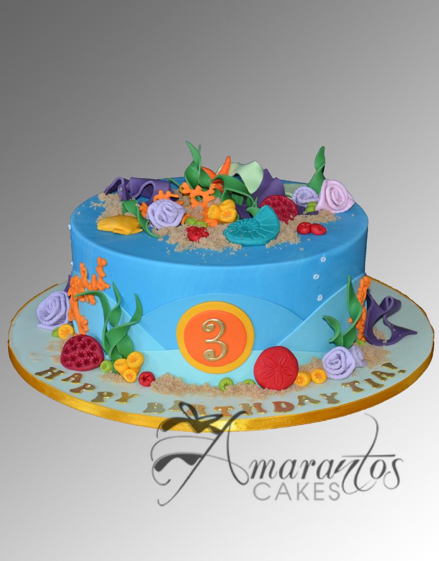 AC57 sea theme WM Amarantos Cakes