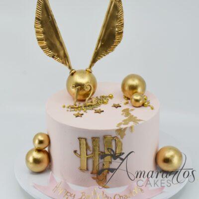 Harry Potter Themed Cake AC73 - Amarantos Designer Cakes Melbourne