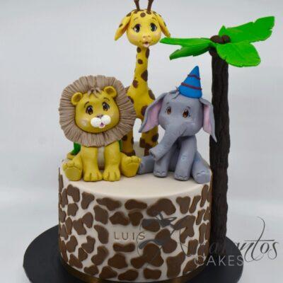 Jungle Cake AC75 - Amarantos Cakes