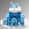 AC76 2 tier converse teddy WM Amarantos Cakes