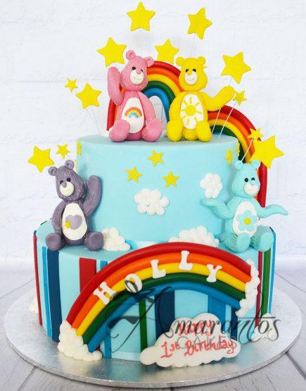 AC83 care bears WM Amarantos Cakes