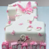 AC87 number with butterfly WM Amarantos Cakes