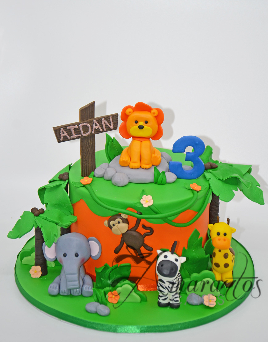 Cute Jungle Cake - AC97