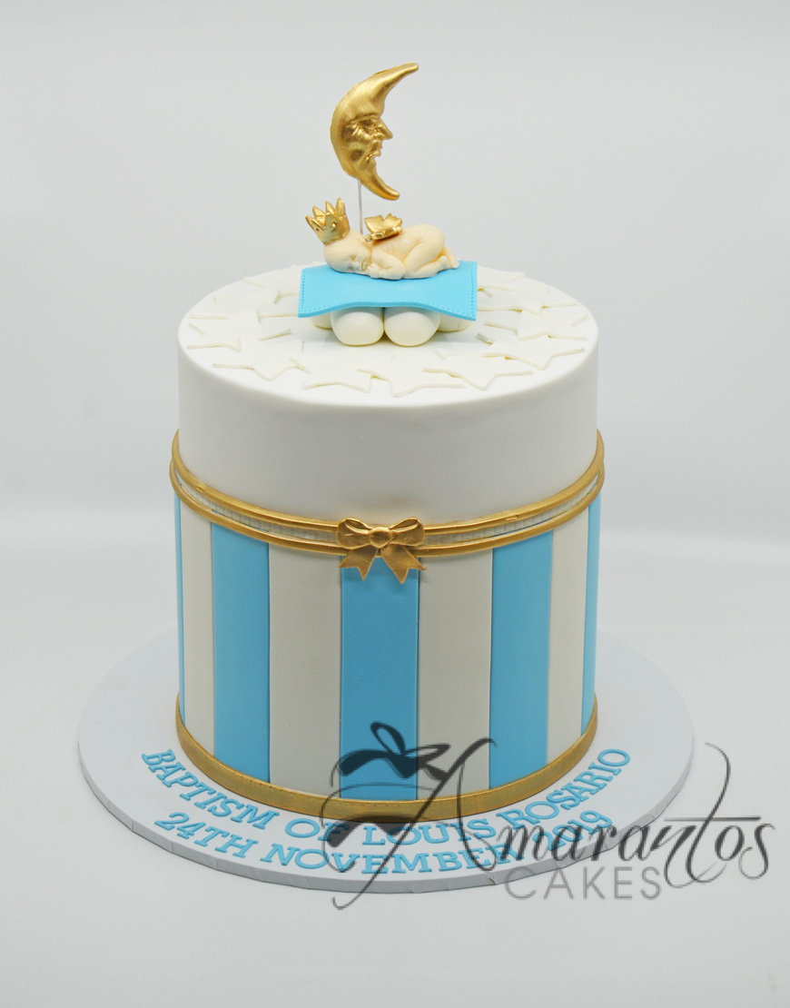 Two tier Baby Moon Cake - CC04