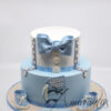 CC11 Two tier with bow and booties