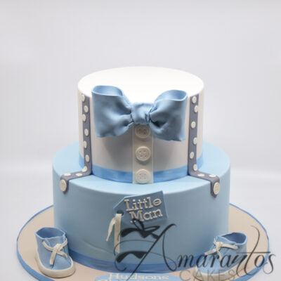Bow Tie and Suspenders Cake - CC11