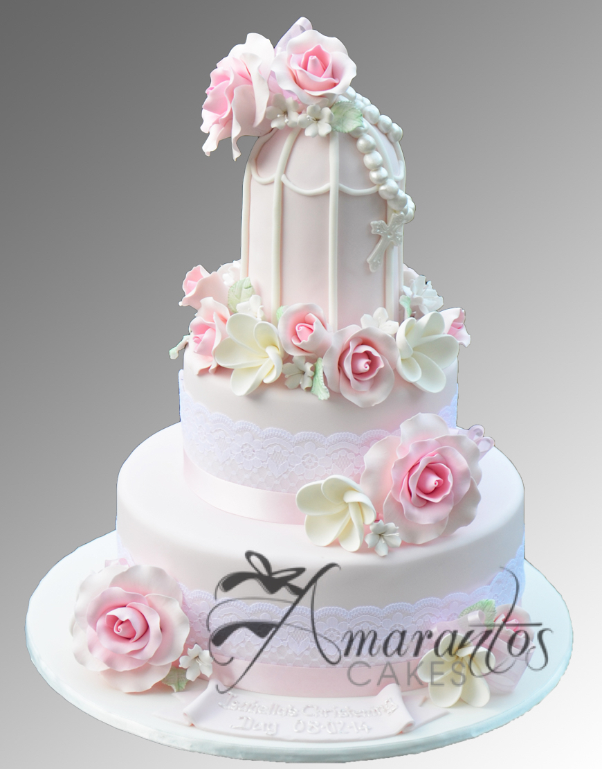 Two tier Birdcage Cake CC31