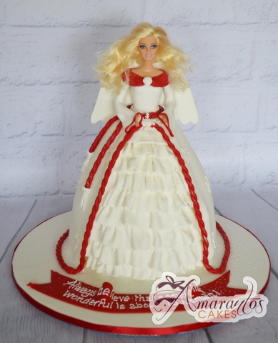 Christmas Angel Cake - Amarantos Designer Cakes Melbourne