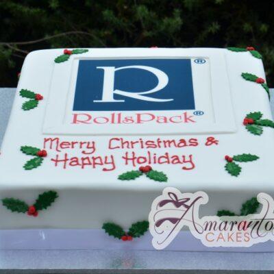 Corporate logo cake- CH12