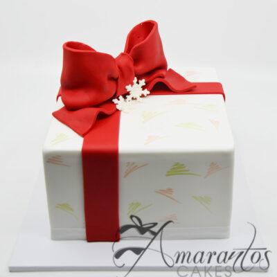 Christmas Present cake CH18
