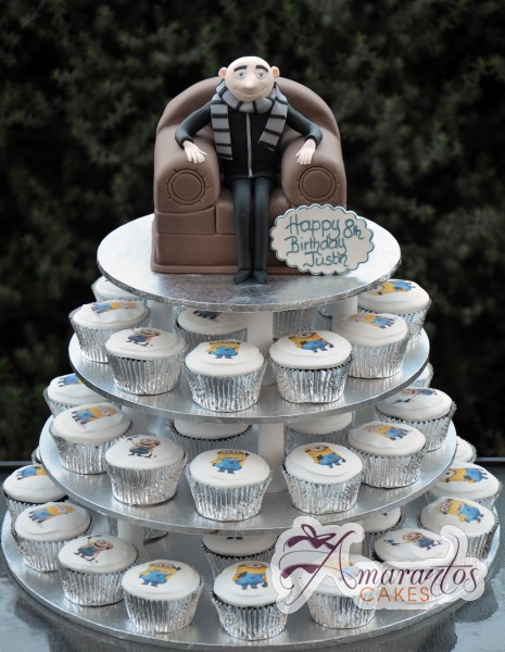Despicable Me Cup Cake Tower- CT02