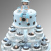 Baby Shower Cup Cake Tower CT54