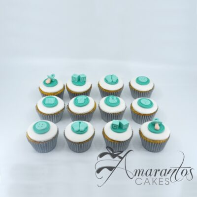 Baby Shower Cup Cakes -CU02