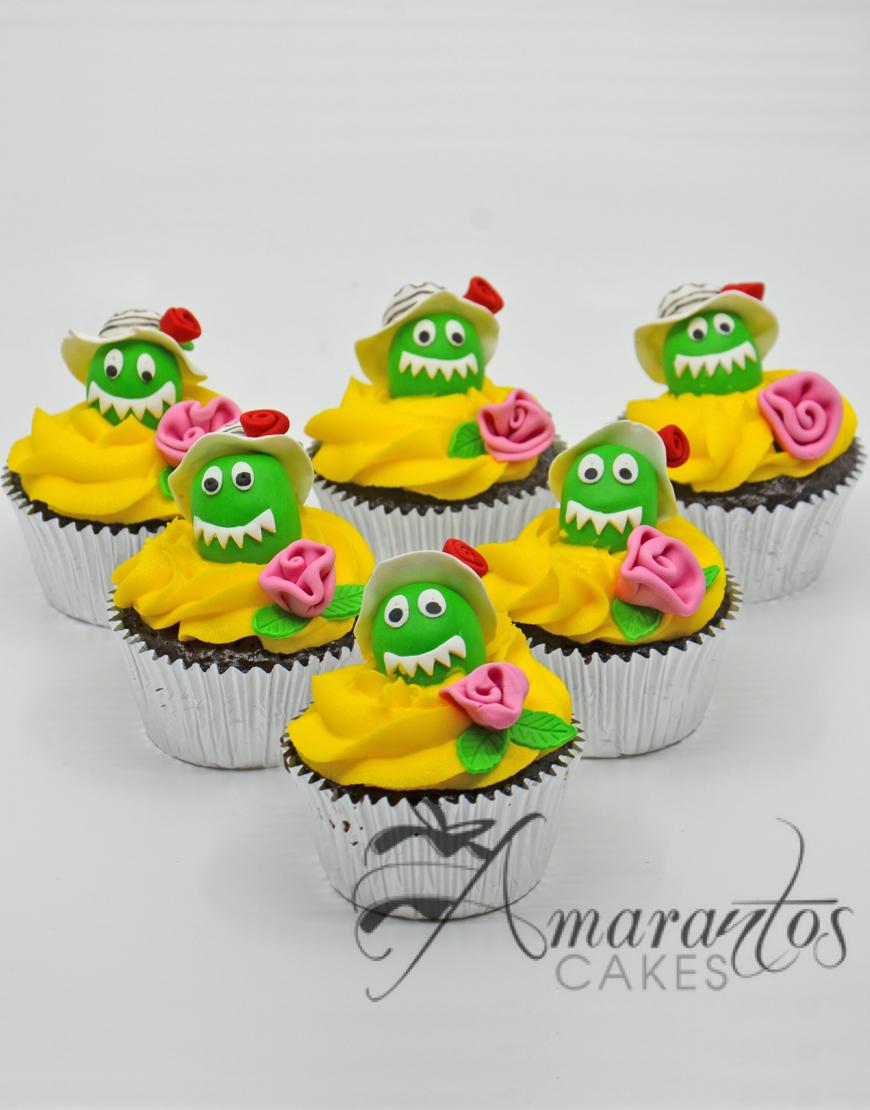 CU04 Dorothy the dinosaur cup cakes