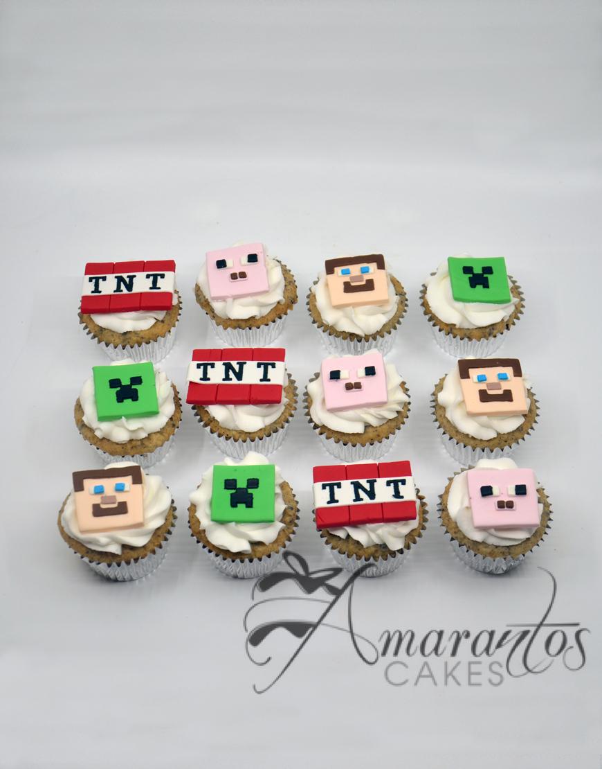 Minecraft Cup Cakes - CU08