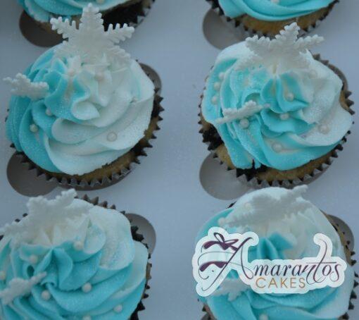 Frozen Cup Cakes One Dozen - Amarantos Designer Cakes Melbourne