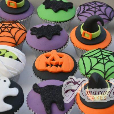 Halloween Themed Cupcakes - Amarantos Designer Cakes Melbourne