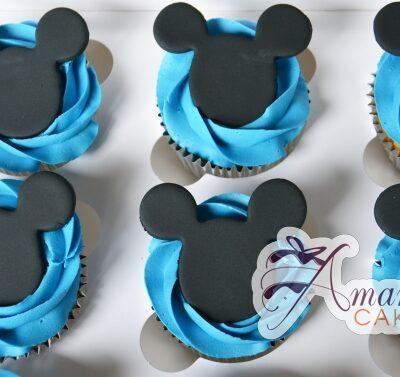 Minnie Mickey Cup Cakes - Amarantos Designer Cakes Melbourne