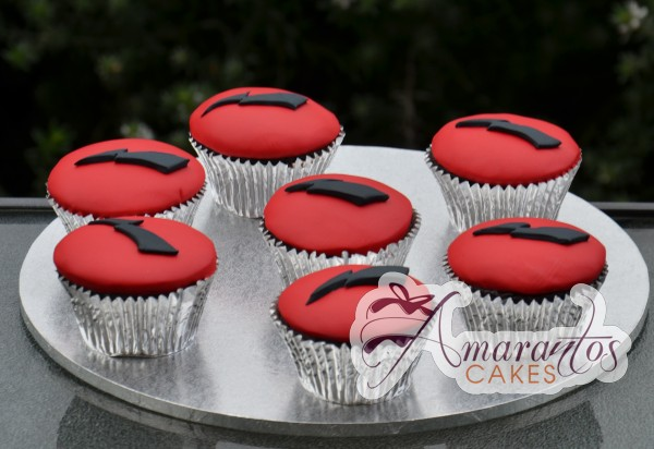 Lighting Bolt Cupcakes - Amarantos Designer Cakes Melbourne