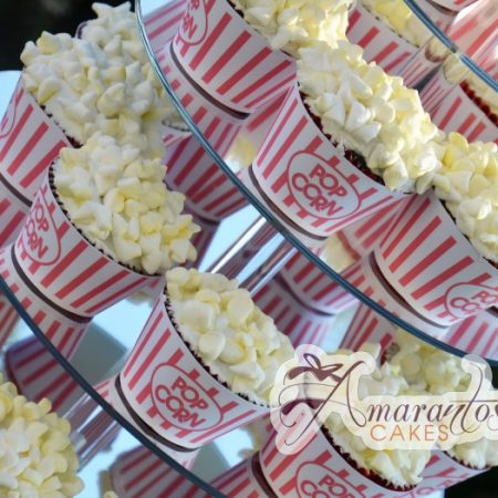 Popcorn Cup Cakes- CU22