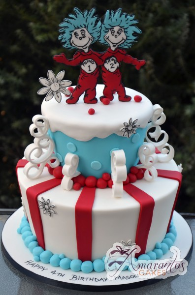 Two tier Dr Seuss - NC01
