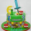 Minecraft Cake NC100