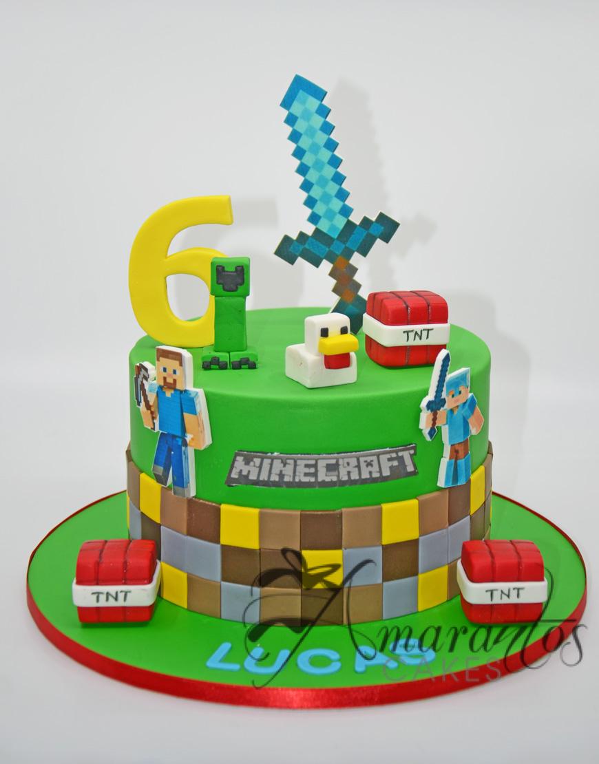 Minecraft Cake - NC100