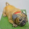 3D Pug Dog Cake NC103