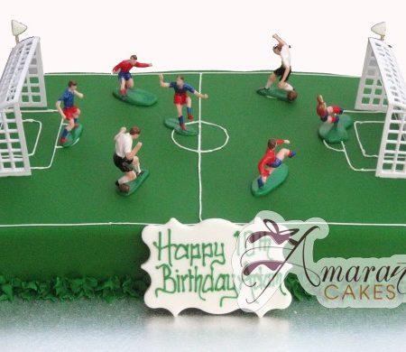 Soccer Field Cake- NC109