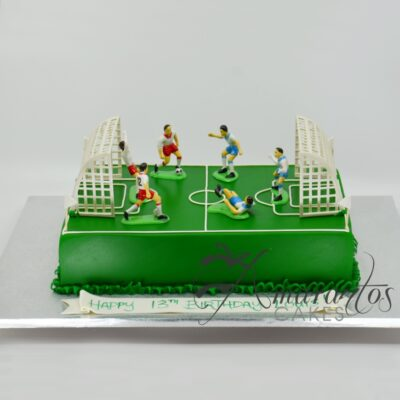 NC109 SOCCER FIELD CAKE