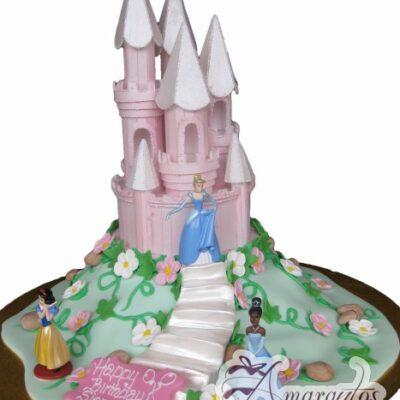 Princess castle cake NC121
