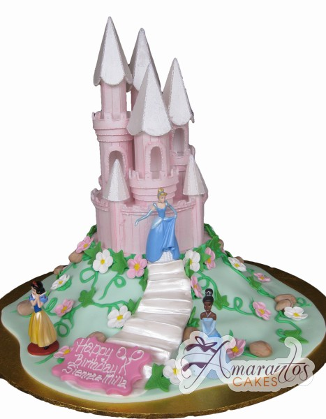 Princess castle cake NC121
