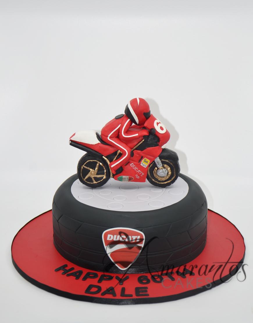 Motorbike Cake - NC134