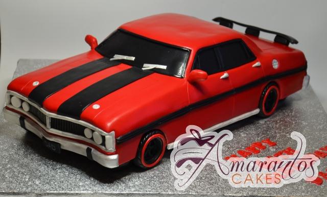 3D Red Ford Cake - Amarantos Custom Made Cakes Melbourne