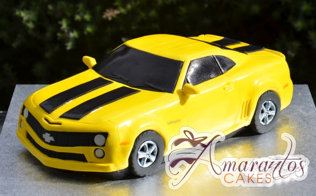 3D Camaro Bumblebee Cake - Amarantos Celebration Cakes Melbourne