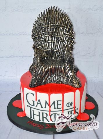 Game of Thrones Cake - Amarantos Designer Cakes Melbourne