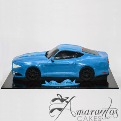 NC158 3D Mustang Car Cake