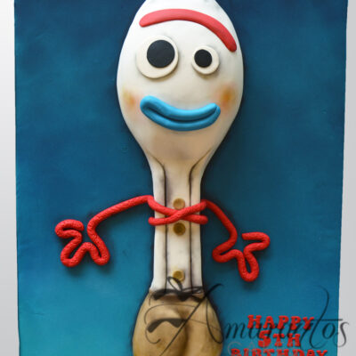 NC15 2D Forky Cake