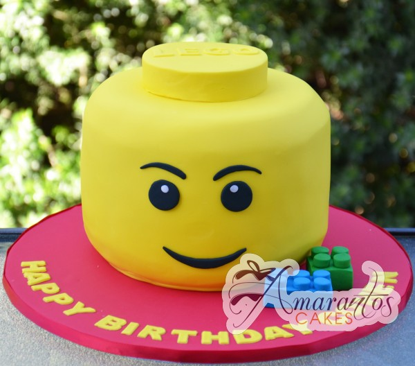 lego mad head cake NC16