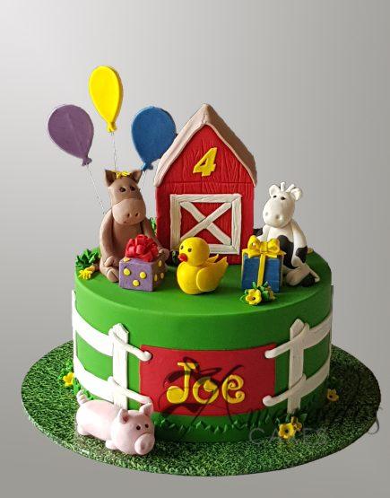 NC163 Farm Cake