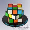 NC166 - Rubiks Cube Cake