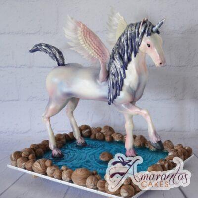 Standing Unicorn Cake - Amarantos Designer Cakes Melbourne