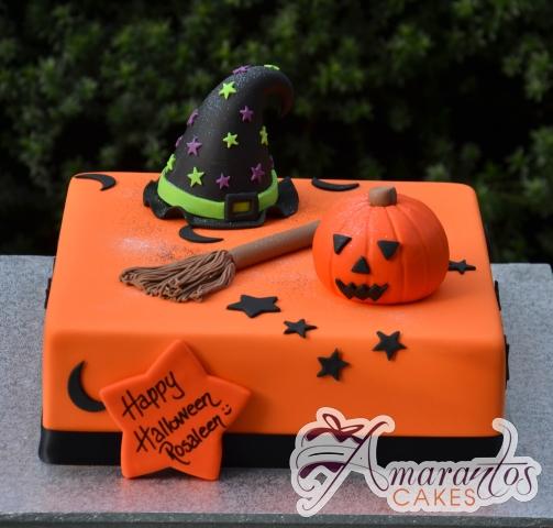 Halloween Cake - Amarantos Custom Made Cakes Melbourne